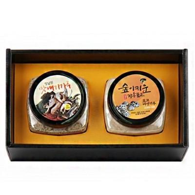 장흥표고 표고버섯 표고랑 맛내기가루 선물세트 280g