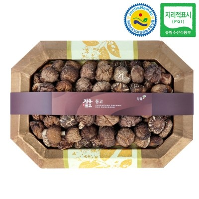 장흥표고 동고 버섯선물세트 동고2호 (소) 350g