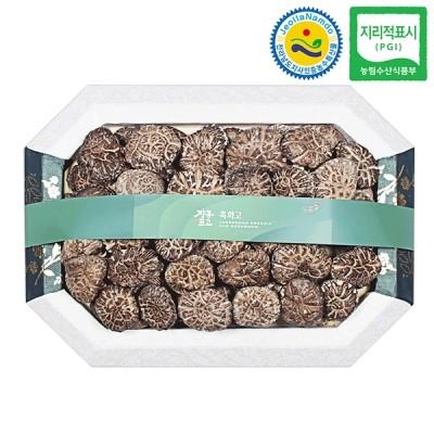 장흥표고 흑화고 버섯선물세트 흑화고 1호 (중) 450g
