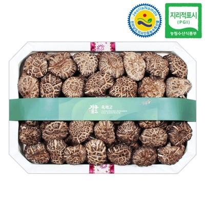 장흥표고 흑화고 버섯선물세트 흑화고 특호 (중) 700g