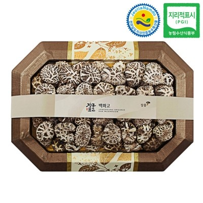 장흥표고 백화고 버섯선물세트 백화고 2호 (소) 400g