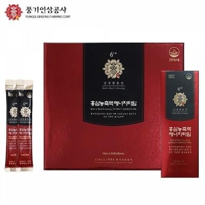 김정환홍삼) 하루 한포! 홍삼농축액에너지타임 30포