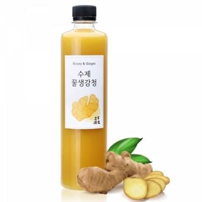 삼백 수제 꿀 생강청 600g 1병