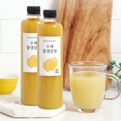 삼백 수제 꿀 생강청 600g 5병