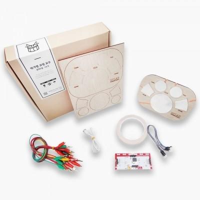엔트리 코딩교육 키트 DIY 전자드럼 기본형(메이키메이키 보드, 메뉴얼 포함)
