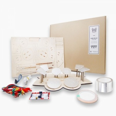 엔트리 코딩교육 키트 DIY 전자드럼 고급형(메이키메이키 보드, 메뉴얼 포함)